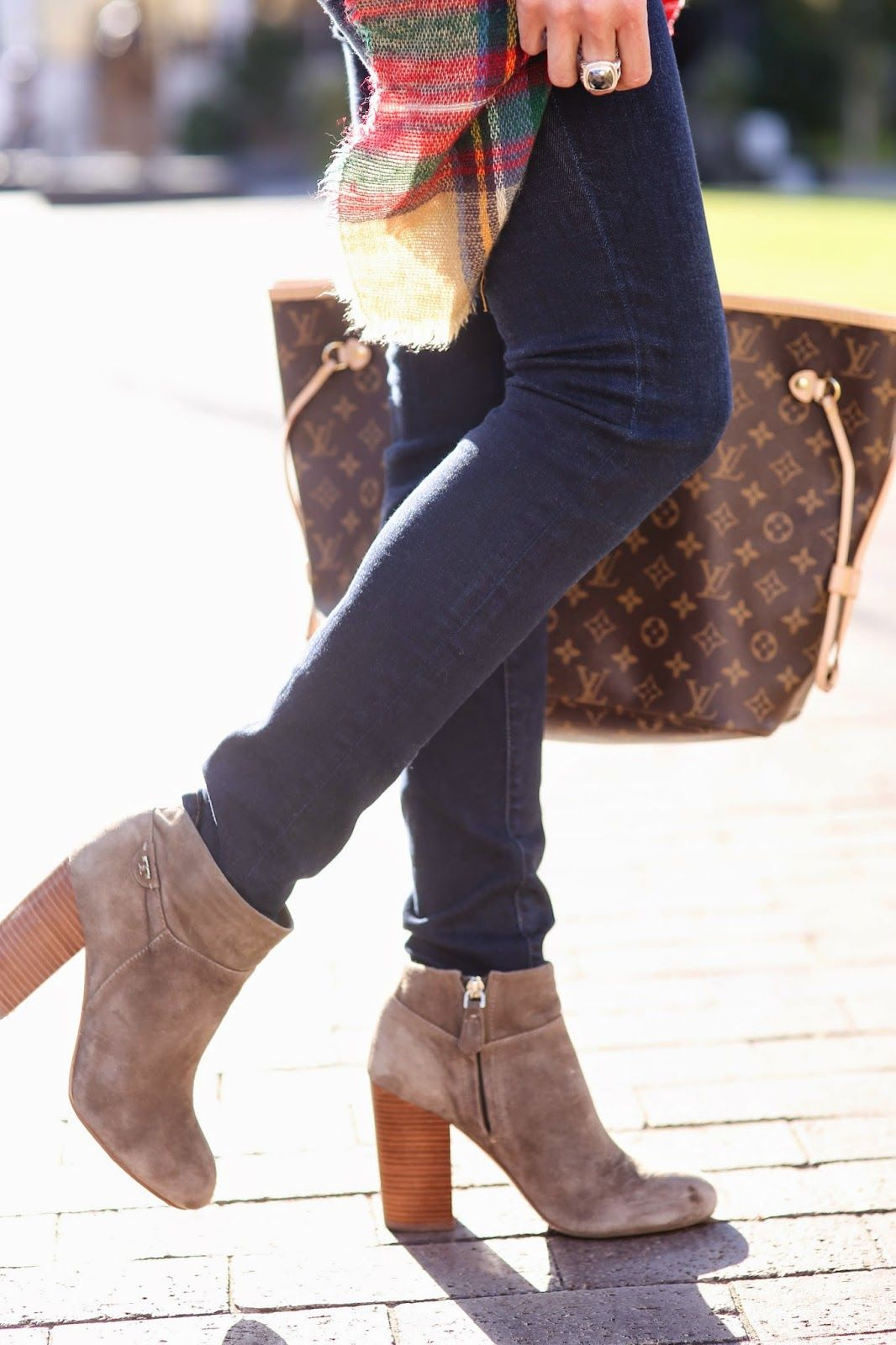 989e98c97b6 Tory Burch Booties Love the look of these boots w skinny jeans. Would look  so cute on you