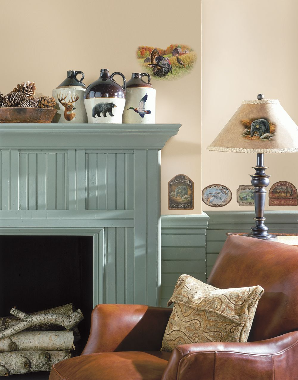 RoomMates® Wildlife Medley Peel & Stick Wall Decals