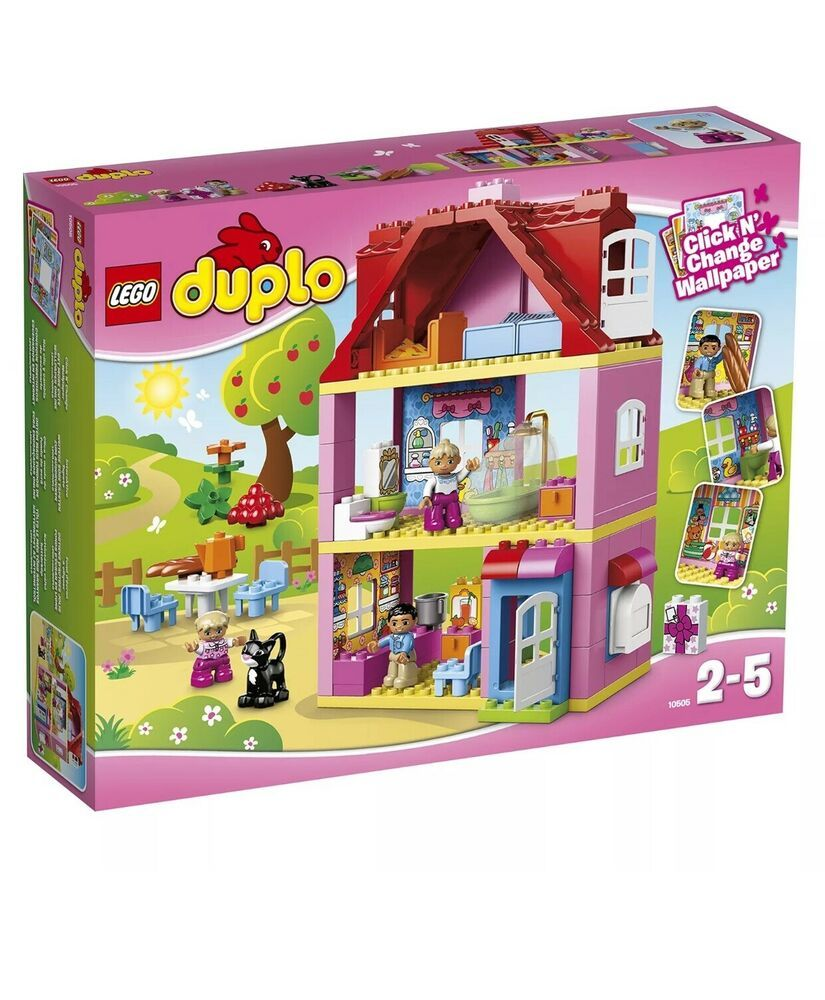 New Pink Lego Duplo Play House Retired Lego duplo