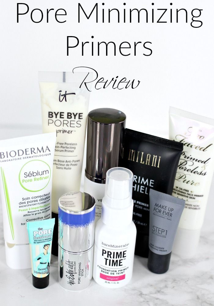 Best Pore Minimizing Primers Try On Review Everyday Starlet Primer Pore Minimizer Primer Minimize Pores