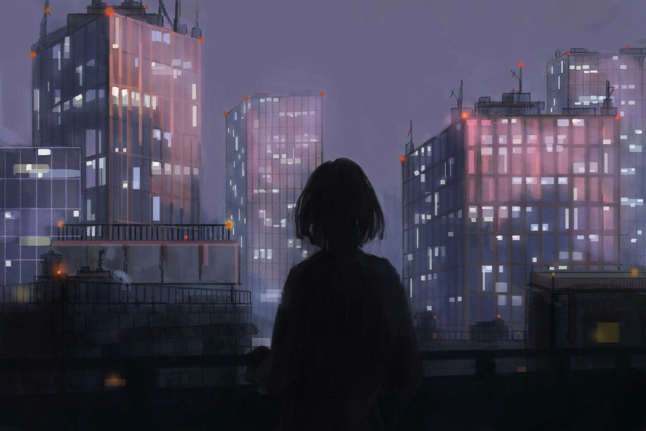 Pin by alexis dziena on cyberpunk Anime scenery