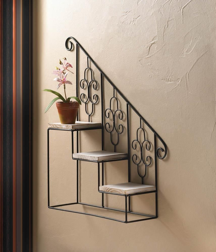 A Convenient And Also Creative Collection Of 25 Remarkable And Also Easy Diy Wall Surface Decorating Ideas That Will D Black Staircase Unique Wall Decor Decor