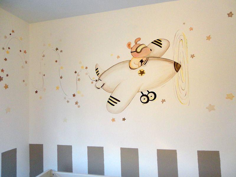 Murales Infantiles Murales Pintados A Mano Sobre Paredes Murales Para Bebes Murales En Dormitorios Mural Infantil Murales Pintados Murales