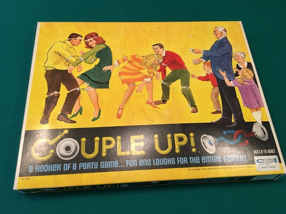 Vintage 1968 COUPLE UP Party Game. Ages 8 to Adult. Continental Promotions, Inc…