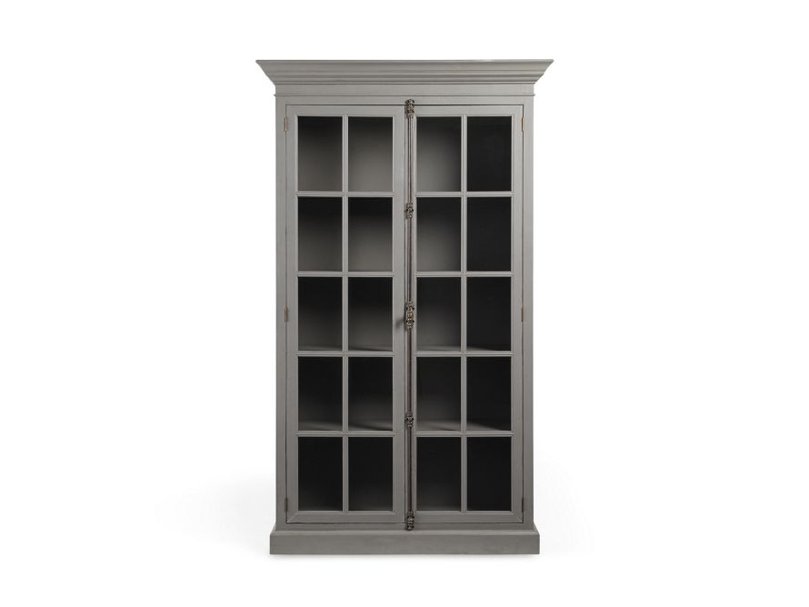 chorus theory 54 cabinet with glass doors in grantham grey house rh pinterest com