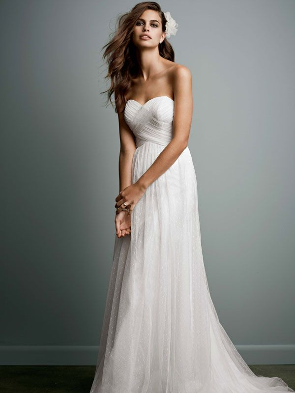 Long and soft, this delicate Galina gown is simply gorgeous. Swiss ...