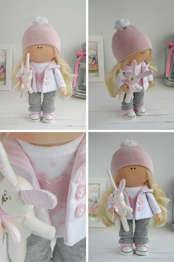 Baby doll handmade Tilda doll Interior doll by AnnKirillartPlace