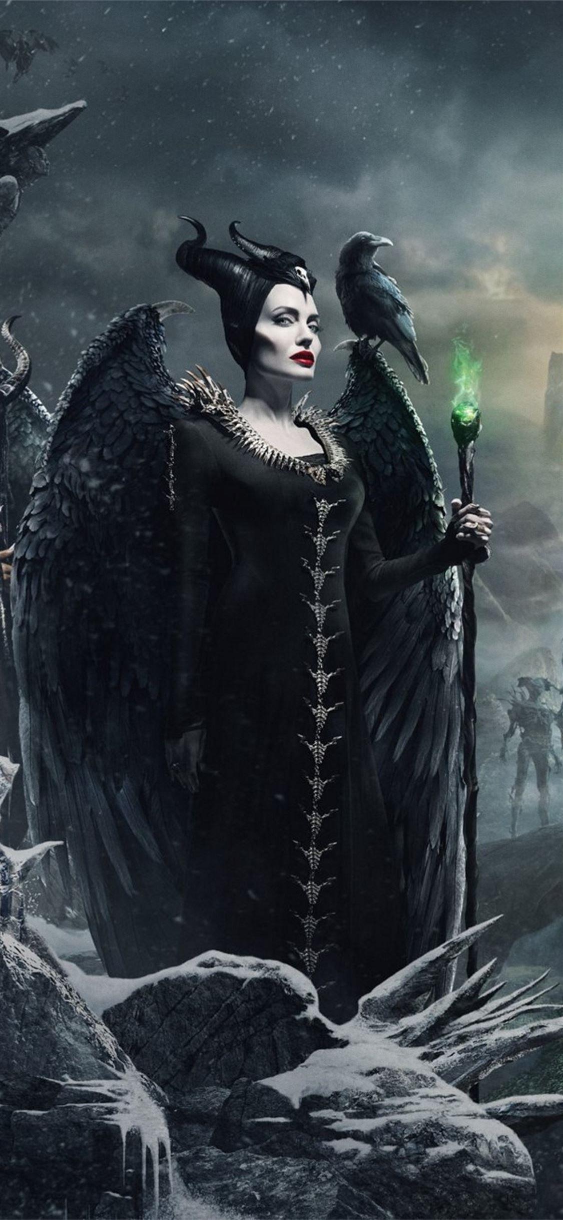 Maleficent Mistress Of Evil 4k New Maleficent Maleficentmistressofevil 2019movies Movies 4k Ip Disney Phone Wallpaper Maleficent Iphone Background Disney