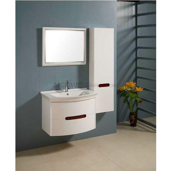 Designer Bathroom Cabinets Impressive Modern Bathroom Cabinet Design With Big Side Cabinet Soft Close 2018