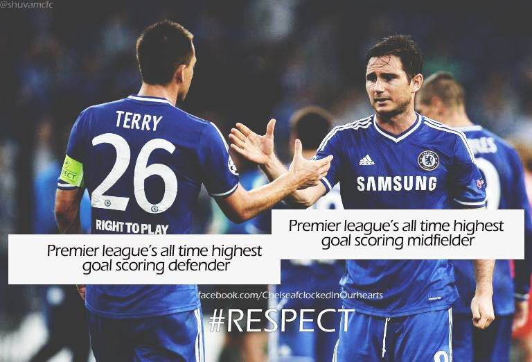 Terry and Lampard #Chelsea Legends