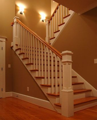 Best Craftsman Staircase With Images Craftsman Staircase 400 x 300