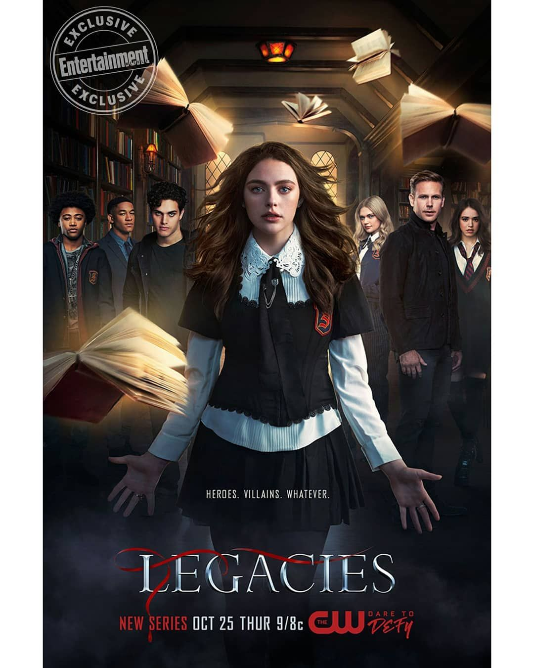 Legacies Saison 2 Episode 2 Streaming : legacies, saison, episode, streaming, #Legacies, Season, Poster!, @entertaimentweekly, Legacy, Series,, American, Movies, Online