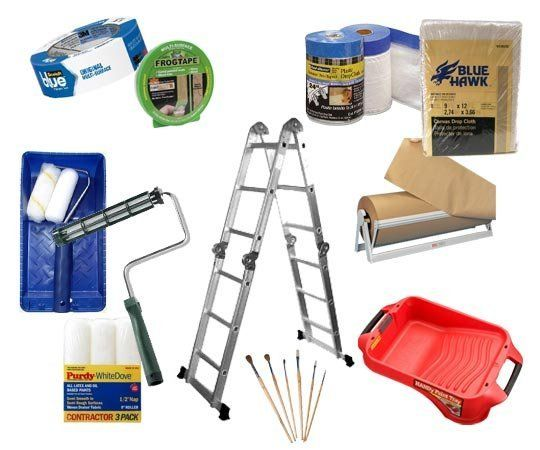 Cool Supplies To Paint A Room Gallery Best Idea Home Design. The ONLY paint  supplies you need ...