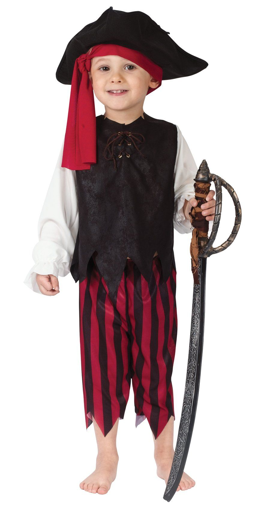 7a2d3777f90 Fun World Costumes Baby Boys Boy Caribbean Pirate Toddler Costume ...