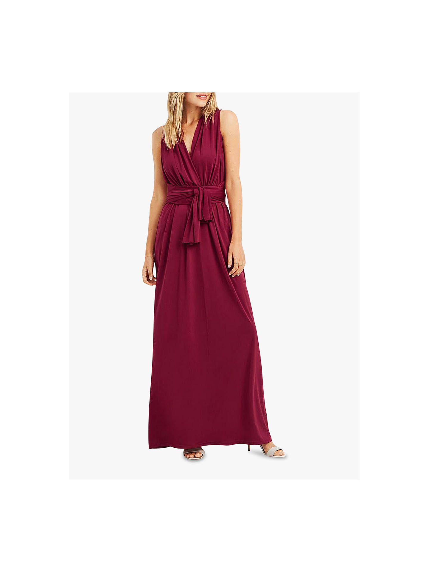 f7ff4efc621d Oasis Annie Multiway Maxi Dress, Mid Pink in 2019 | Bridesmaid ...