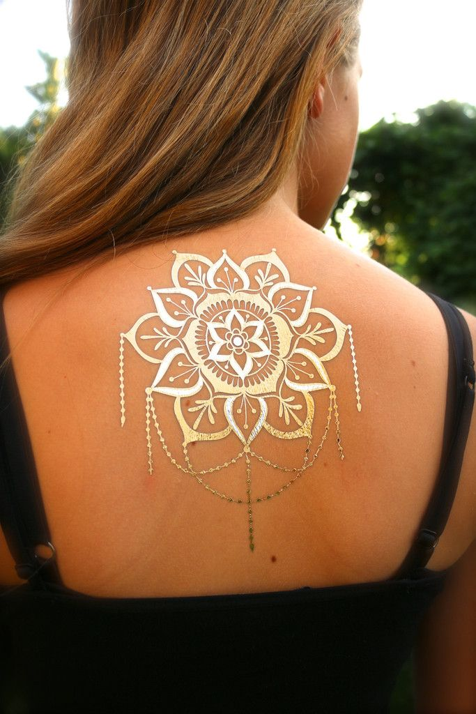 Henna Tattoo Kaufen Amazon: Mandala With Chandelier Flash Tattoos
