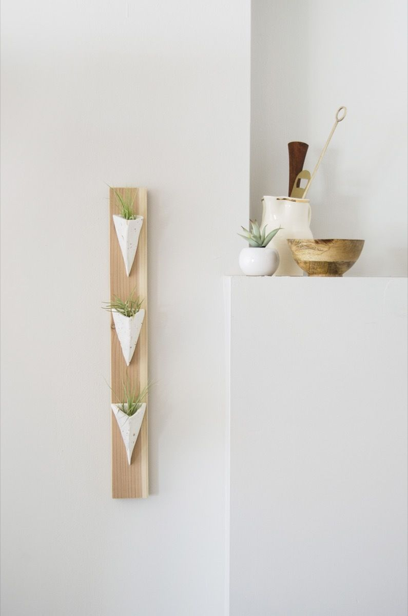 An easy geometric inspired project that fills up