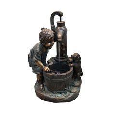 Brunnen Garten, Gartenbrunnen, Outdoor Rückzug, Außenbrunnen, Garten  Wasserspiele, Indoor Outdoor, Pumpe, Gartendekorationen, Springbrunnen