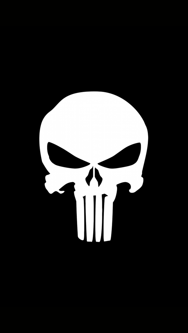 Iphone Wallpapers Iphone 5 Imgur Punisher Logo Punisher Marvel Punisher