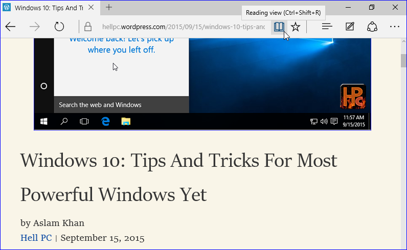 Best Tips And Tricks For Windows 10 Hellpc Net Windows 10 Windows Tips