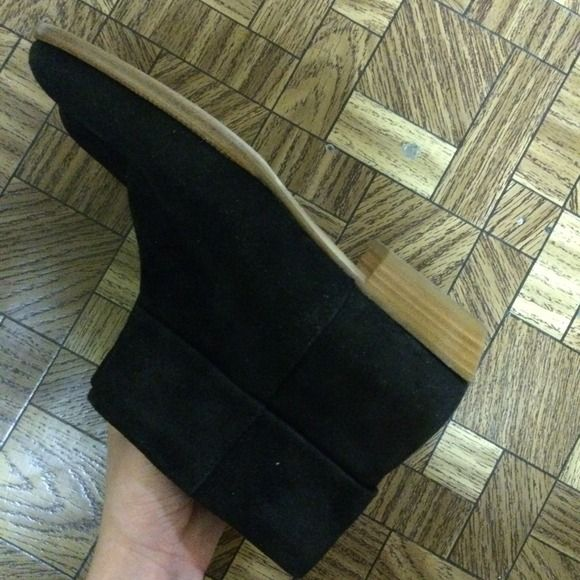 Siegerson Morrison Booties NEW! Black Suede Sigerson Morrison Booties Sigerson Morrison Shoes Ankle Boots & Booties