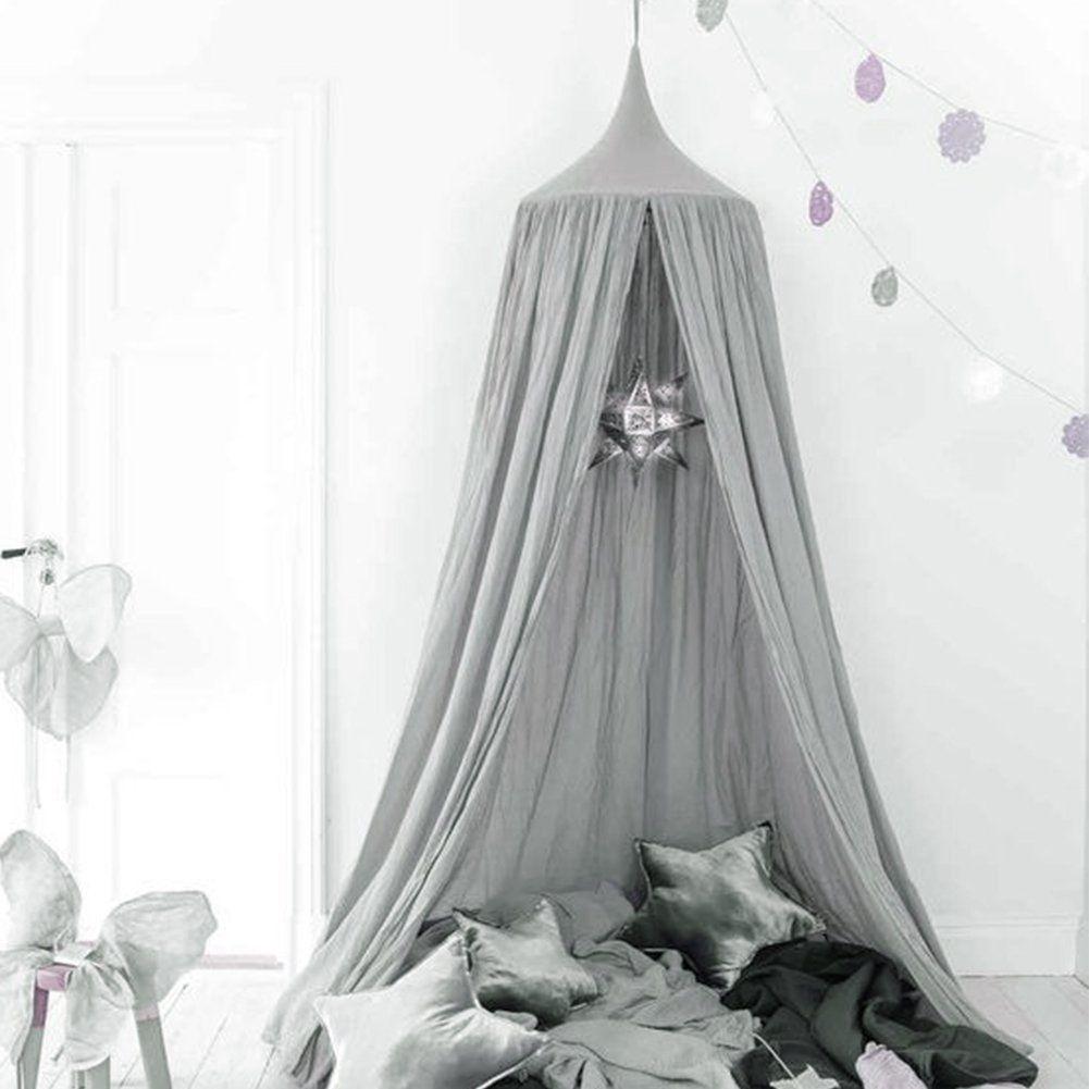 Betthimmel Für Kinder/Babys, Baumwolle, Moskitonetz Zum Aufhängen, Vorhang,  Spiel  Und Lesezelt Für Innen Und Außen, Bett /Schlafzimmerdekoration, ...