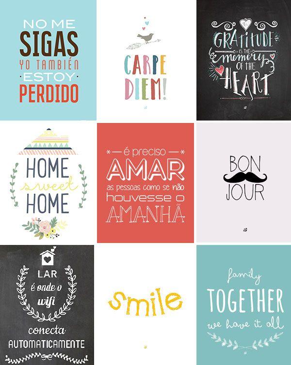 30 Posters Para Imprimir Para Todos Os Gostos Suspire