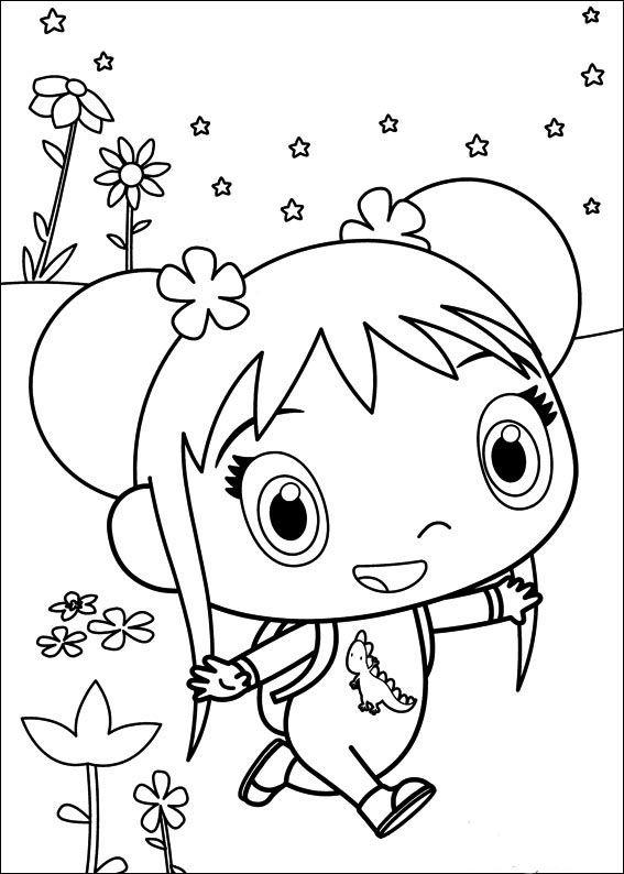 Ni Hao Kai-Lan Tegninger til Farvelægning 34   Tegninger ...