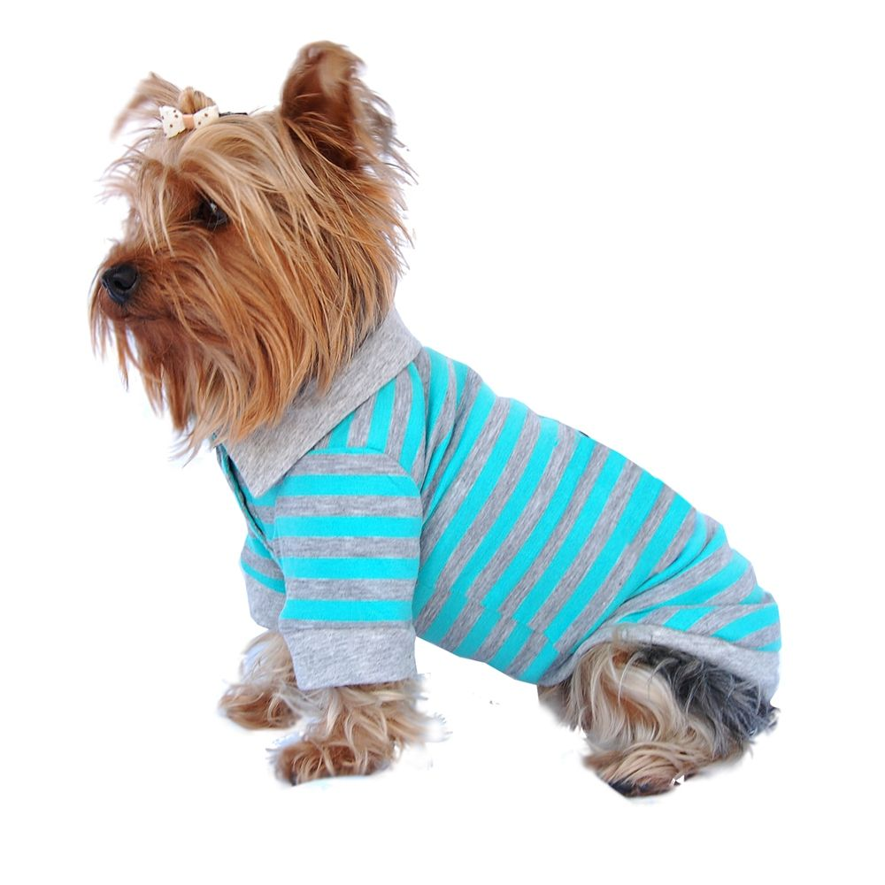 Blue and Grey Stripe Polo Shirt | Dog Apparel | Pinterest | Striped ...