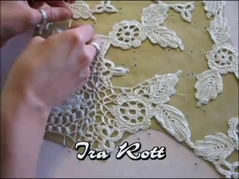 Häkeln Lernen Irische Häkelblüte Irische Rose Häkelmotiv