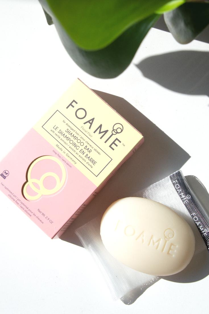 Foamie is a zero waste, affordable shampoo bar! Shampoo