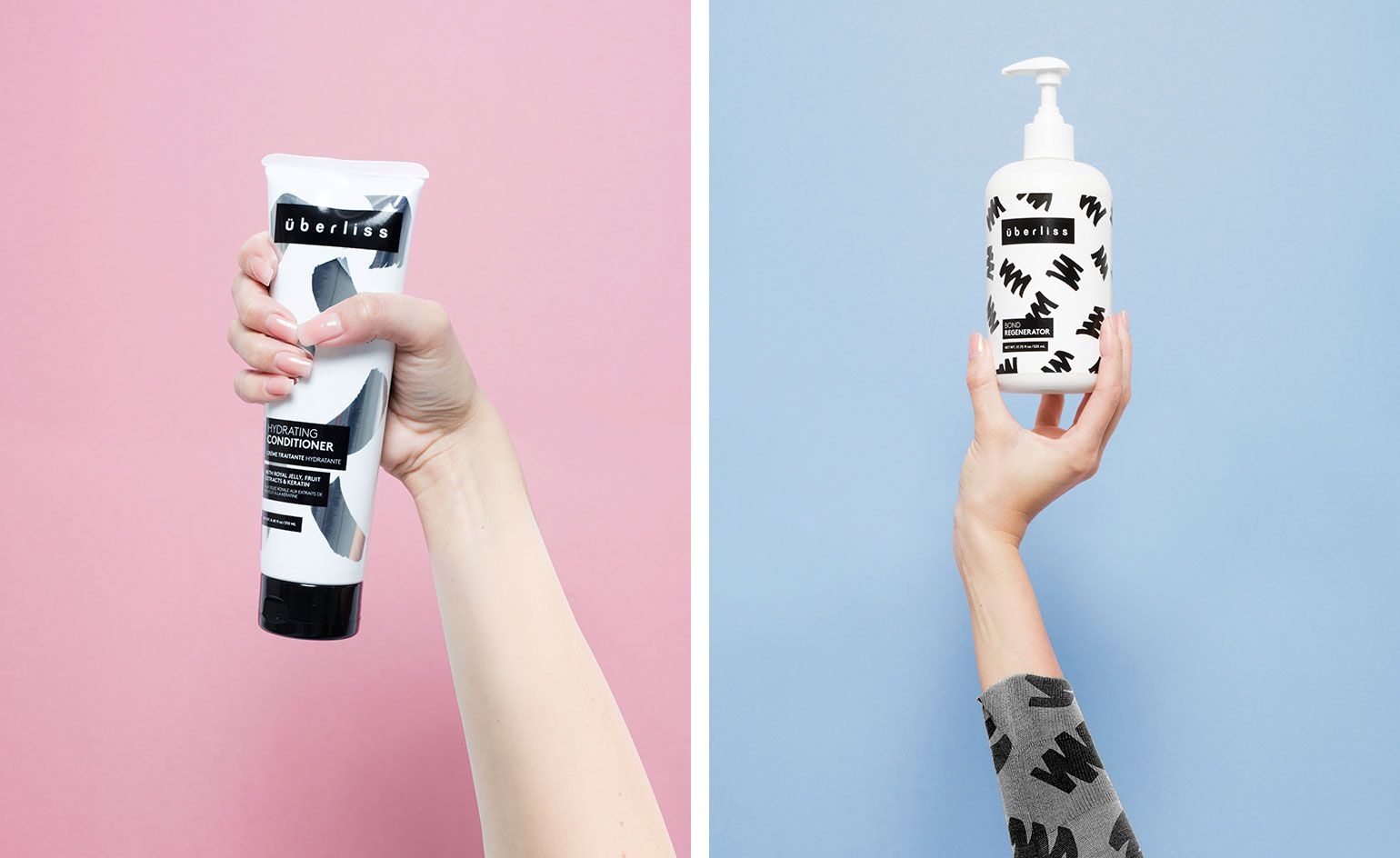 Mane Attraction Haircare Brand Uberliss Unveils A Playful New Look Newlook