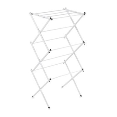 Buy Polder® Compact Clothes Drying Rack in White from Bed Bath & Beyond *So I don't shrink any of my clothes.*