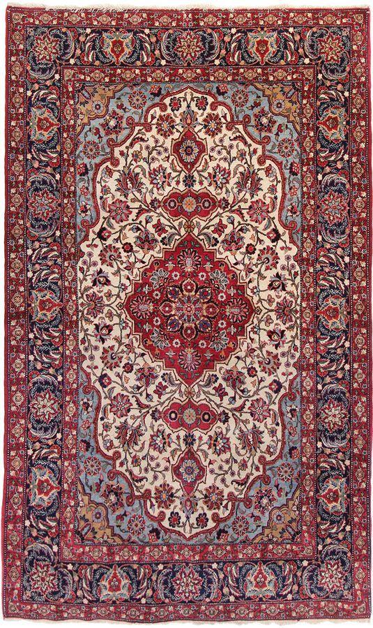 F J Kashanian Vintage Persian Hand Knotted Wool Rug Hippi Oboi Oboi Fony Teksturirovannye Oboi