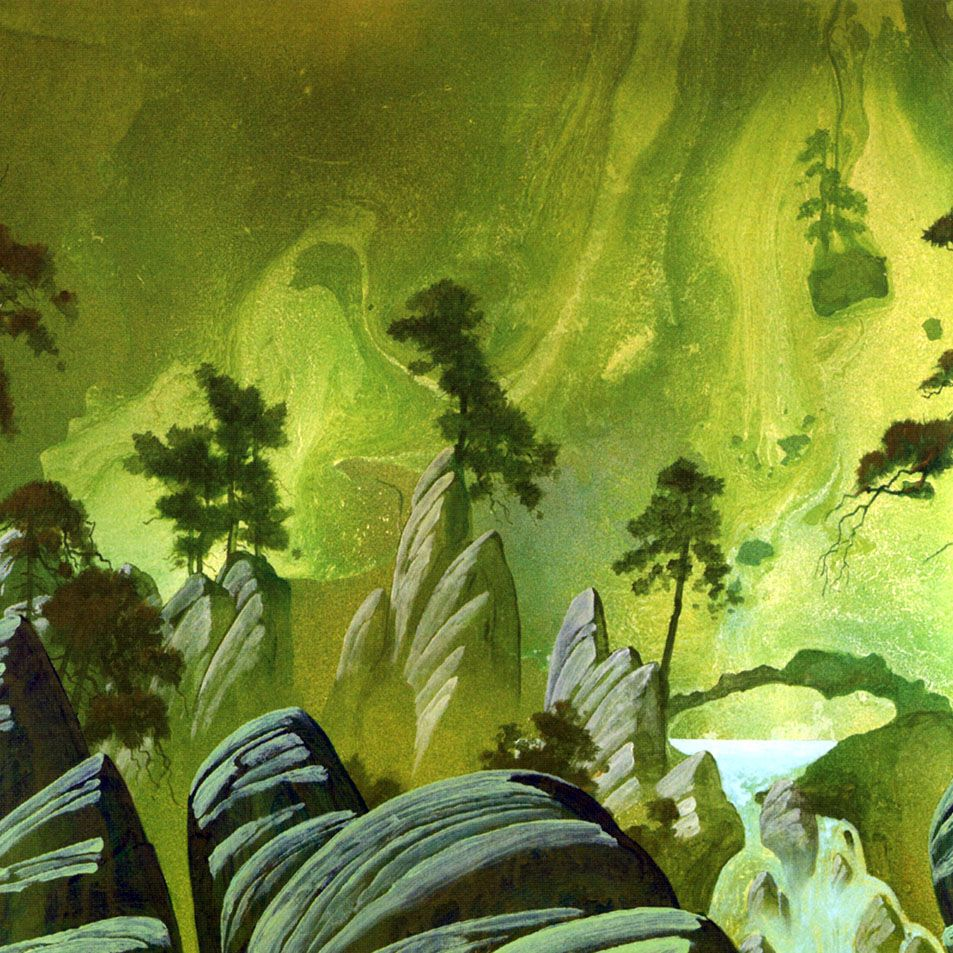 Roger Dean Close To The Edge Wallpaper