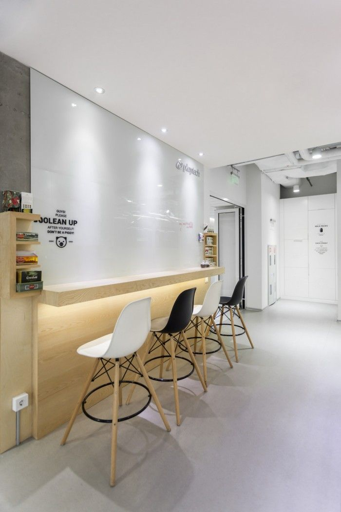 Office tour playtech kiev offices spaces for working - Interior design office space ...