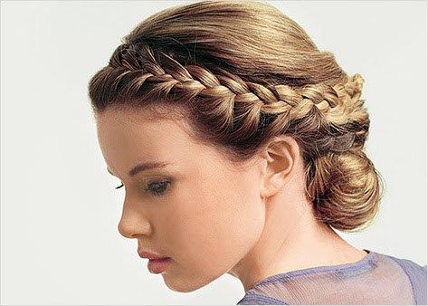 Greek Braided Hairstyle Greek Hair Hair Styles Goddess Hairstyles