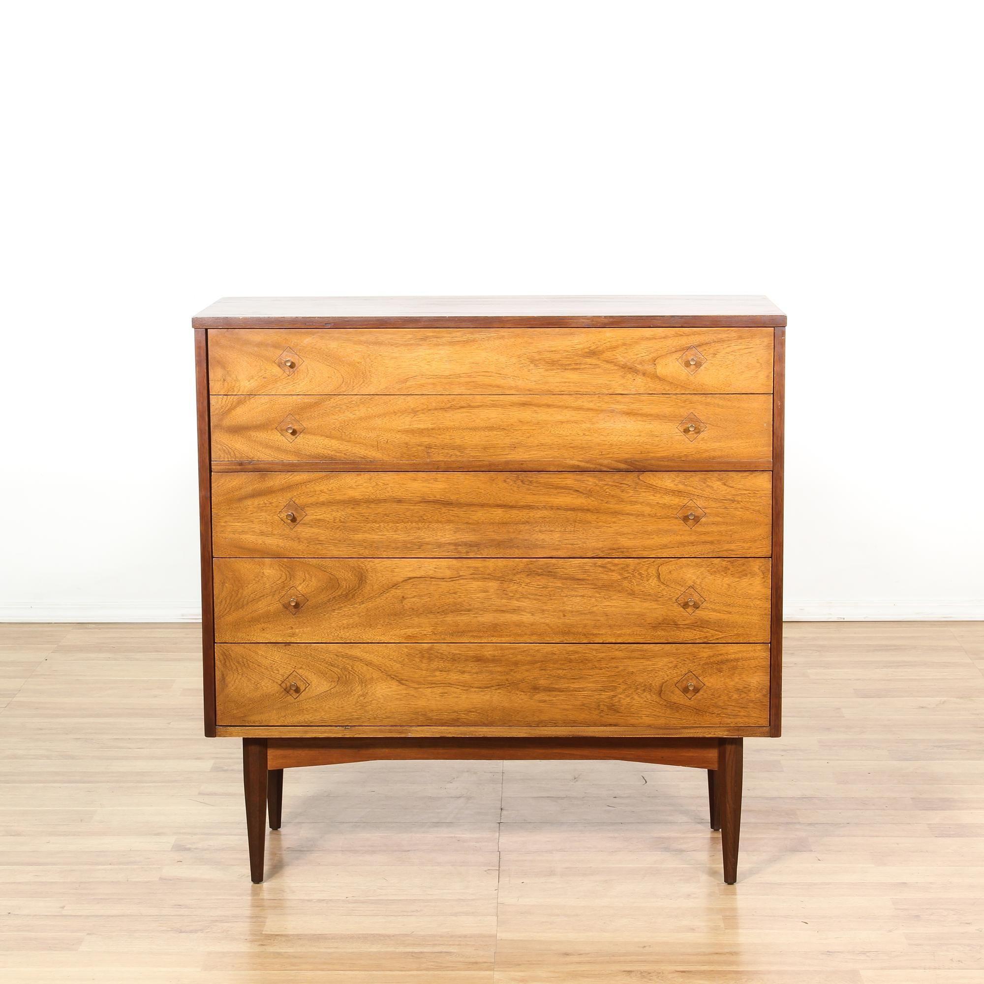 dixie mid century modern  drawer tall dresser  dresser mid  - dixie mid century modern  drawer tall dresser