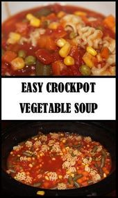 This is delicious and meatless vegetable soup that takes 4 hours in the crockpo  Meatl This is delicious and meatless vegetable soup that takes 4 hours in the crockpo  Me...