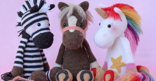 Emmie Eenhoorn This Crochet Pattern Tutorial Is Available For Free