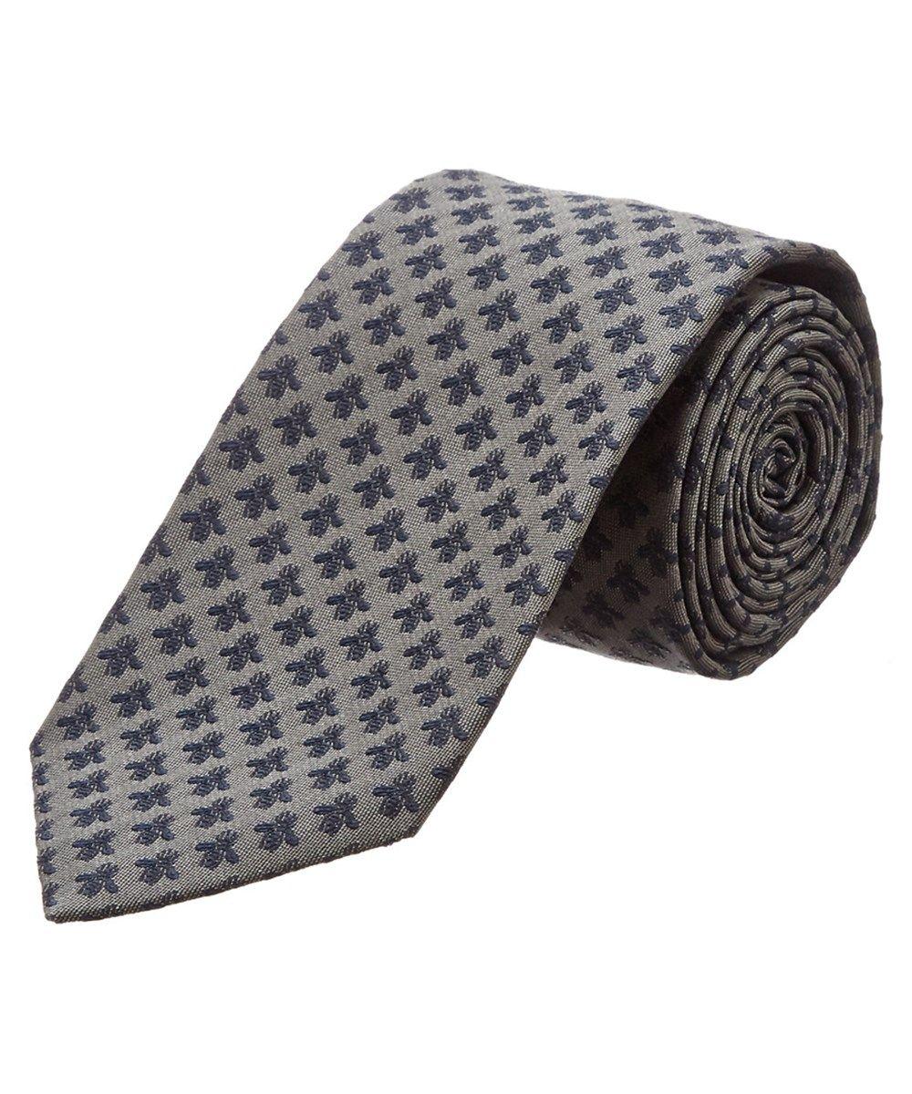 ad7a9834a87d3 GUCCI Gucci Grey  Amp  Navy Bee Silk Tie .  gucci  ties