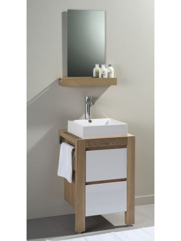 vasque salle de bain leroy merlin   Meuble Vasque Gris Leroy Merlin: Colonne de rangement ...