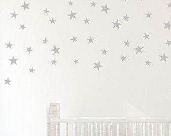 Star Confetti Wall Decals Set Of 40 Stars Di DavisVinylDesigns