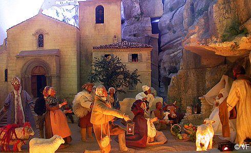 Noël aux Baux de Provence   photos et découverte Horizon Provence