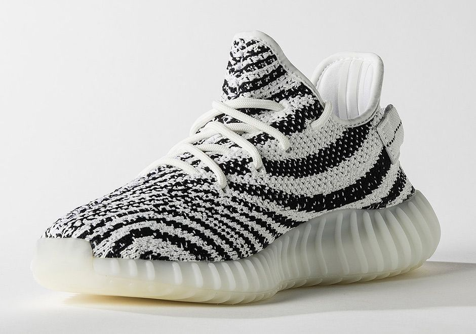 The adidas Yeezy Boost 350 V2 Zebra (Style Code: CP9654) will release  February