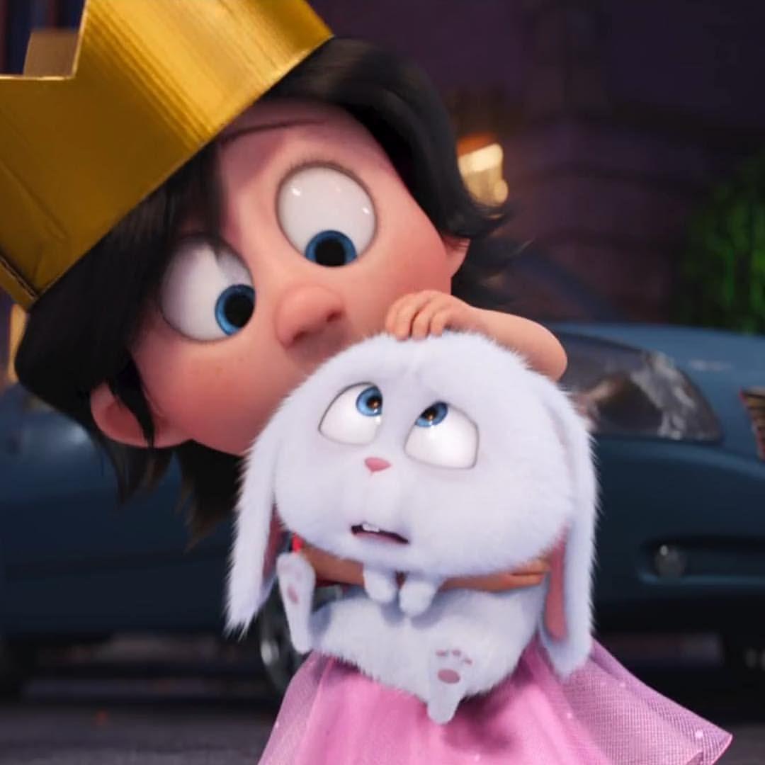 35 Likes 0 Comments スノーボール ボス Snowball Pets Movie On Instagram 新しい飼い主さん 映画 映画ペット プリンセス Princess Pet う Kartun Semuanya Lucu Kartun Disney