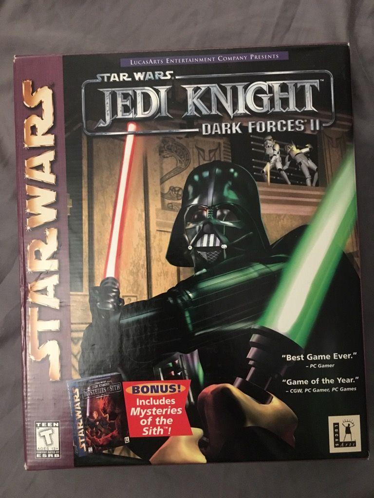 Jedi Knight Dark Forces Ii W Mysteries Of The Sith Jedi Knight