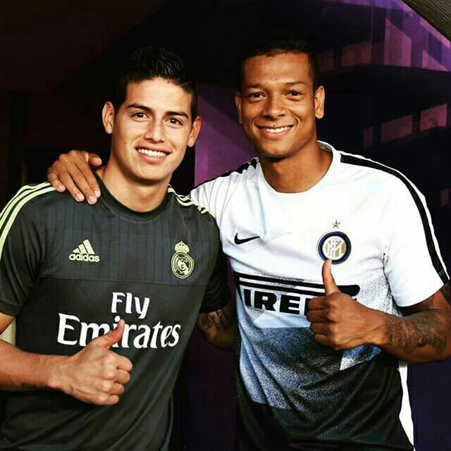 Un amigo de la vida y del fútbol @jamesrodriguez10 #Inter #RealMadrid #brother #JR10 #FG13