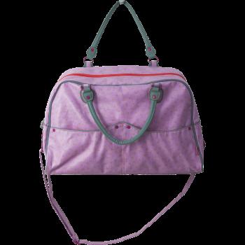 Großartige Einkaufstasche von RICE mit grünem floralem Aufdruck