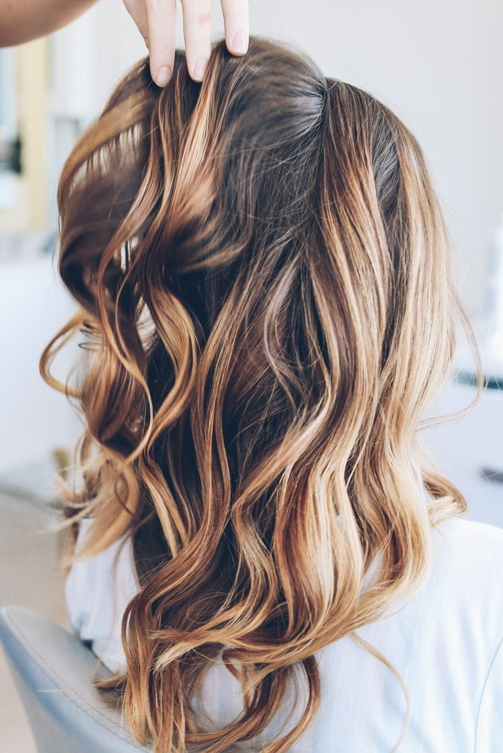 quick and easy beach waves hair